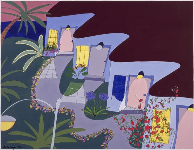 , 'Nobody's home in #2,' 2001, Joshua Tree Art Gallery