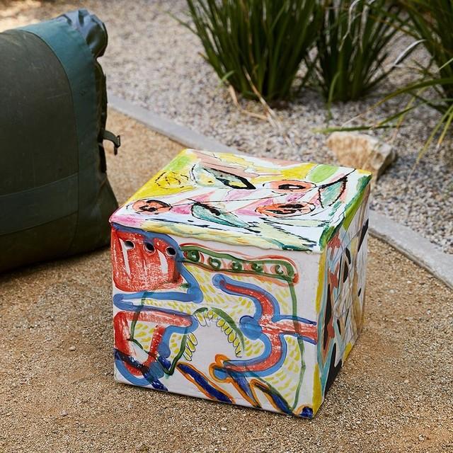 , 'Ceramic Square Side Table 3,' 2017, The Future Perfect