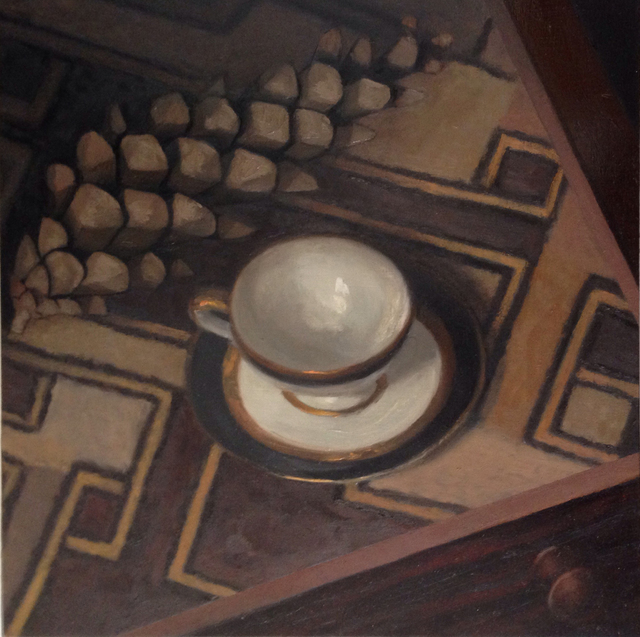 , 'Cup and Pinecone,' 2015, Cerulean Arts