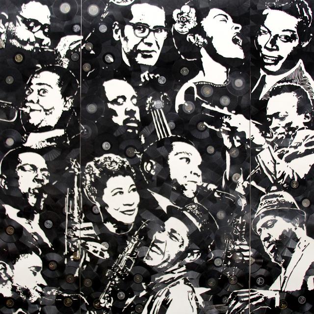 , 'Jazz Legends,' 2016, Contessa Gallery