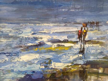 , 'Shore Activities,' 2018, Nicholas Roman Fine Art