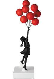 Flying Balloon Girl Black/Red