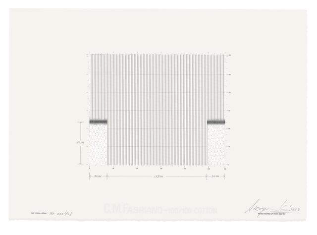 , 'Ecriture(描法) No.000408,' 2000, Kukje Gallery
