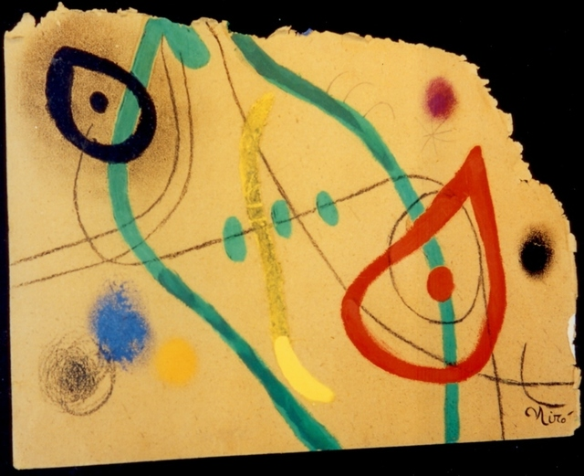 Joan Miró, 'Tete et oisseau,' 1973, Galeria Marc Domenech