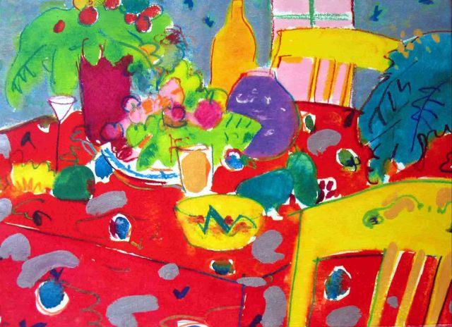 , 'Mesa Roja,' 1995, Florida Fine Art