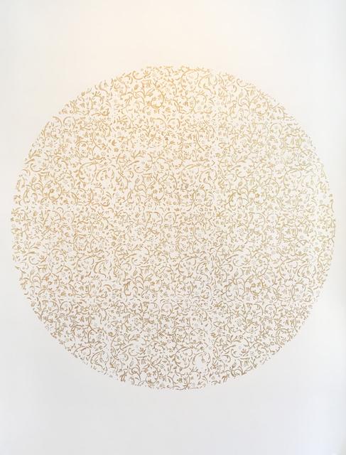 , 'Gold Tapestry Mandala,' 2016, Pentimenti Gallery