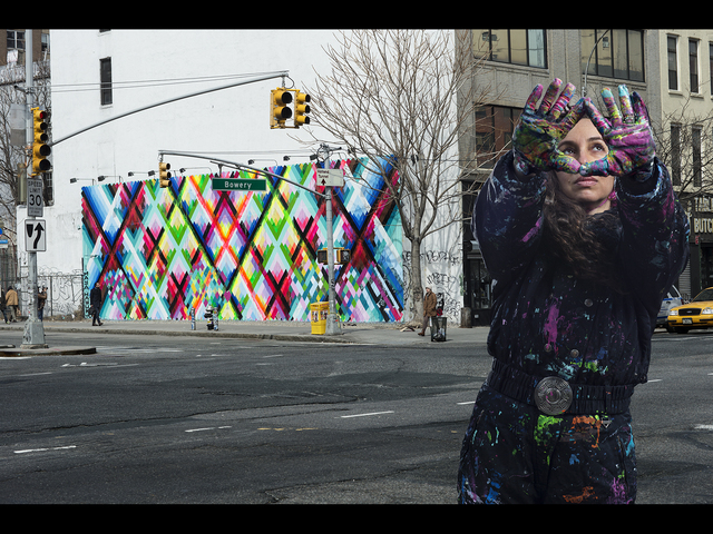 , 'Maya Hayuk (USA), New York,' 2014, Subliminal Projects