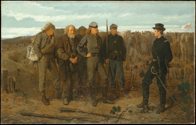 Winslow Homer, 'Prisoners from the Front', 1866, The Metropolitan Museum of Art