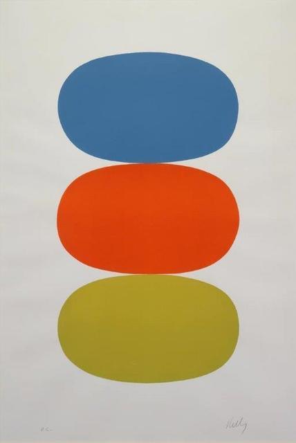 Ellsworth Kelly, 'Blue & Orange & Green', 1964-1965, Addison Rowe Gallery