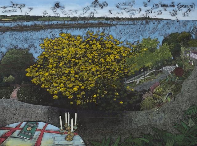 , 'Paradismaleri #XI Zig Zaggy Have,' 2015, Kunstforeningen GL STRAND
