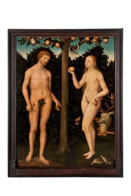 , 'Adam et Eve,' , Les Arts Décoratifs