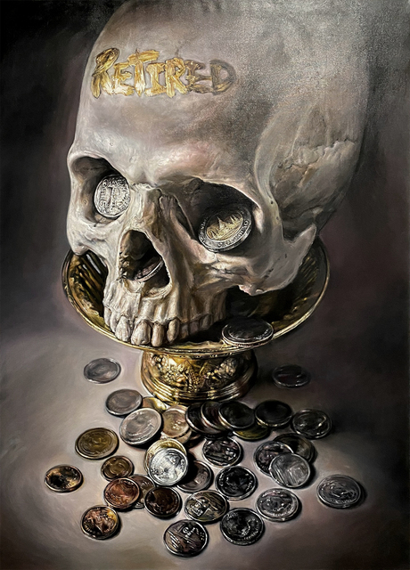 Wal Chirachaisakul, 'Price of Eternity', 2018, Painting, Oil on canvas, AURUM GALLERY