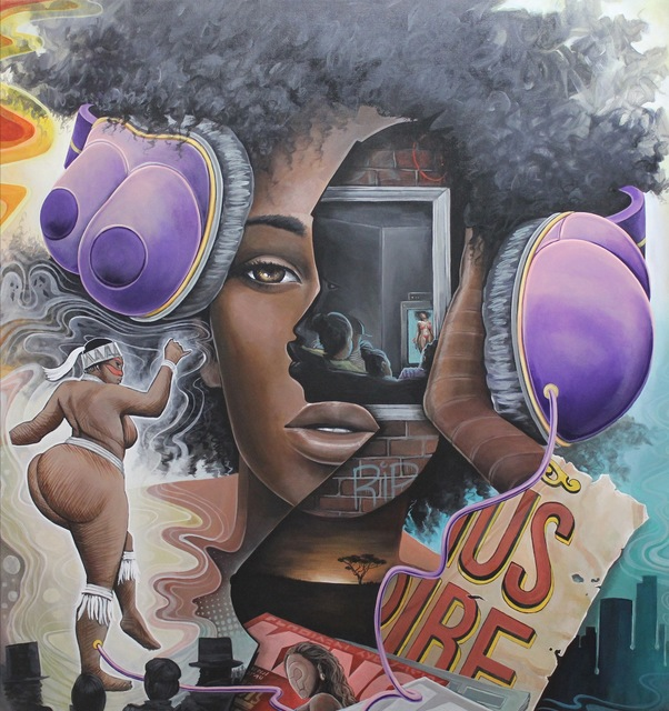 , 'The Ghost of Hottentot Venus ,' 2014, The Compound Gallery