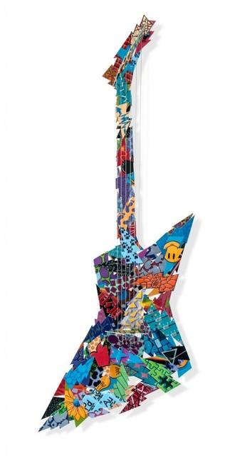 , 'Electric Guitar,' 2016, Eden Fine Art