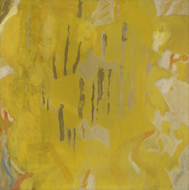 , 'Yellow Ambit,' 1952, Berry Campbell Gallery
