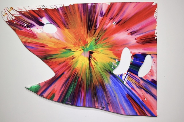 Damien Hirst, 'Shark Spin Painting - Hand signed.', 2009, MultiplesInc Projects