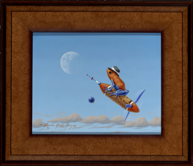 , 'Fly Me to the Moon,' , ÆRENA Galleries and Gardens