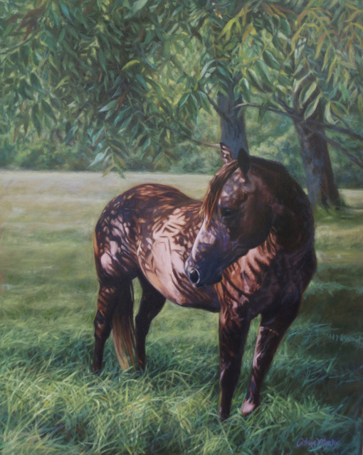 , 'Miss Fannie in the Walnut Grove,' 2015, Dog & Horse Fine Art