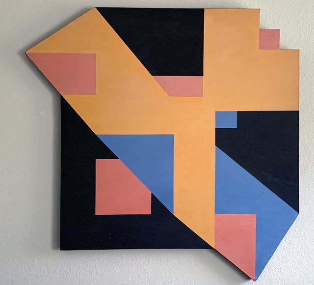 Clifford Singer, 'Logarithmic Painting', 1973, iMuseum Vegas