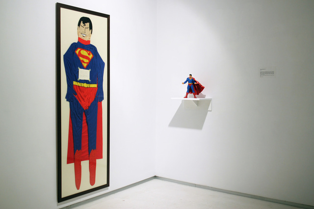, 'Superromanianman,' 2015, ANCA POTERASU