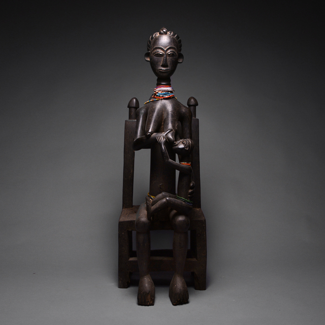 Unknown Asante, 'Asante Sculpture of a Mother and Child', 20th century B.C., Barakat Gallery