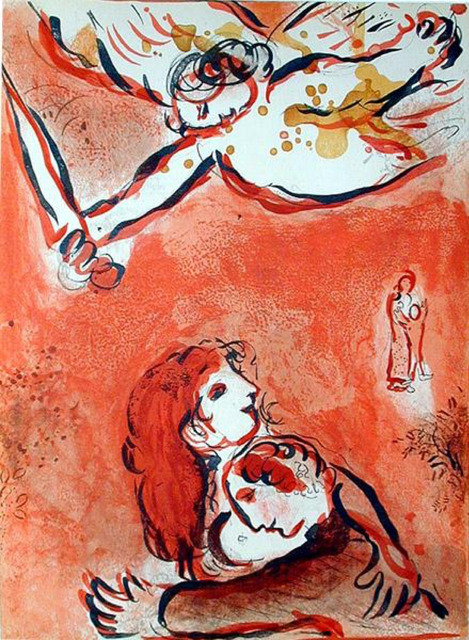 Marc Chagall, 'The Face of Israel', 1960, Print, Lithograph, Galerie d'Orsay