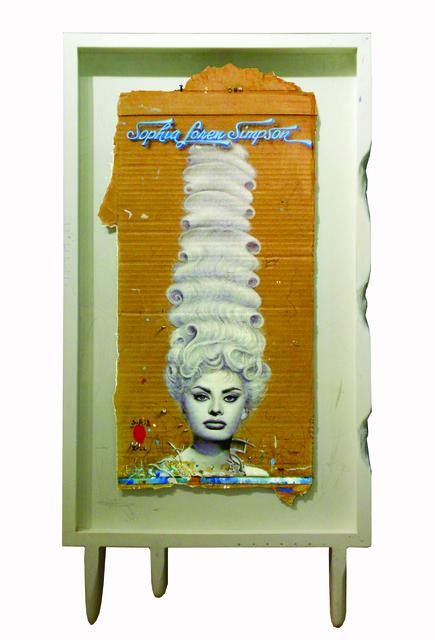, 'Sofia Loren Simpson,' 2012, N2 Galería