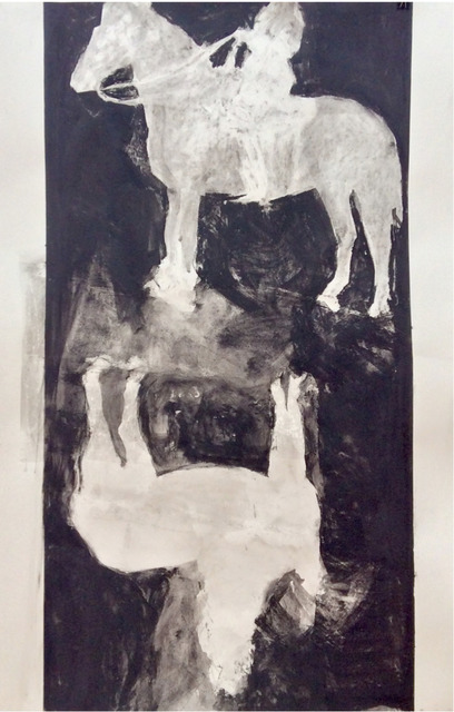 , 'Untitled (horse and),' 2016, The Front Gallery