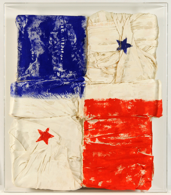 , ' INCOMPLETE FLAG  ,' 2017, Contini Art Gallery