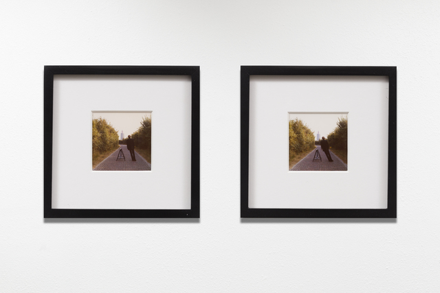 "Bas Jan Ader, 'Study for ""Broken fall (geometric), Westkapelle, Holland""', 1971, Photography, Two vintage color photographic prints (framed), Meliksetian 
