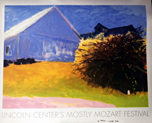 , 'MOSTLY MOZART LINCOLN CENTER (HAND SIGNED &  DEDICATED),' 2003-2011, Alpha 137 Gallery