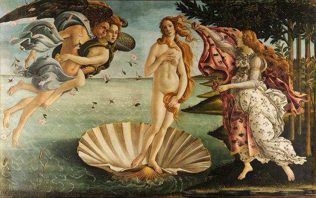 Sandro Botticelli, 'The Birth of Venus,' ca. 1486 , Art History 101