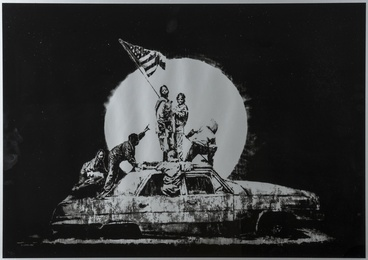 Banksy, 'Silver Flags,' 2006, Forum Auctions: Editions and Works on Paper (March 2017)