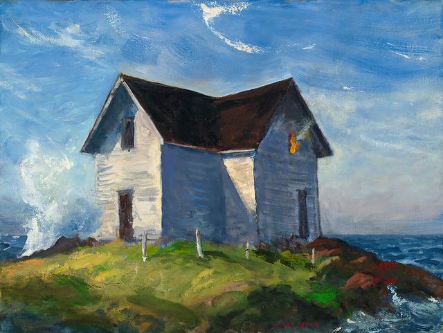 , 'Hopper's Island,' 2018, Patricia Rovzar Gallery