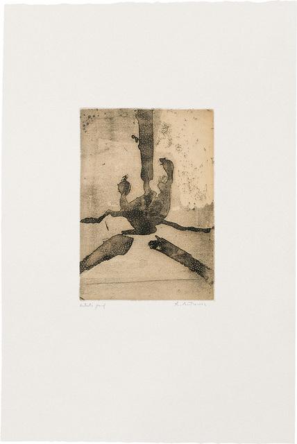 Robert Motherwell, 'Paroles peintes III: Untitled', 1967, Bernard Jacobson Gallery