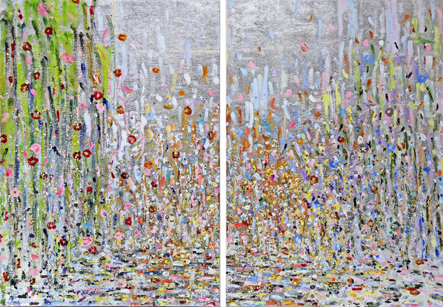 , 'East Meets West Part I and II (Diptych),' 2017, Madelyn Jordon Fine Art