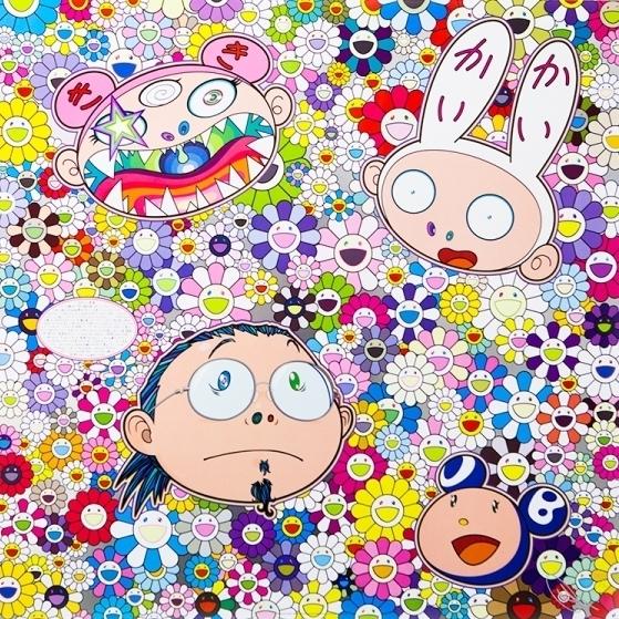 Takashi Murakami, 'The Creative Mind', 2016, Print, Offset print, Vogtle Contemporary