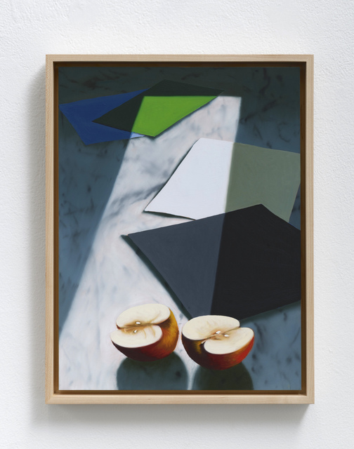 , 'Sliced Apple,' 2019, Leslie Sacks Gallery