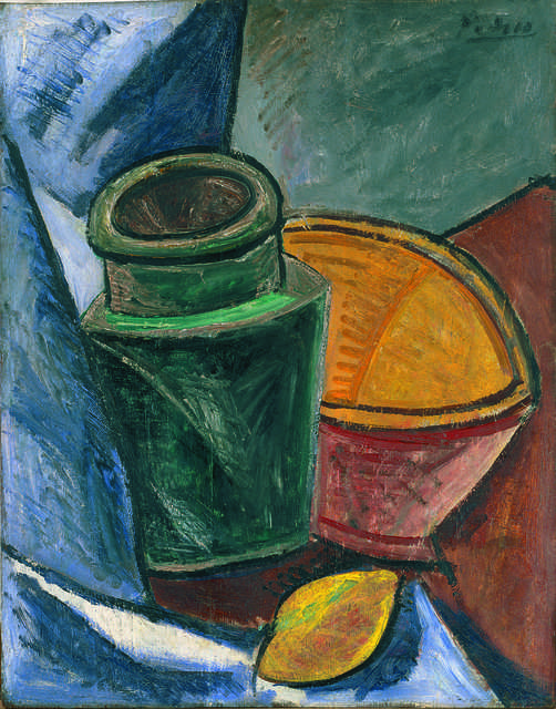Pablo Picasso, 'Cruche, bol et citron (Jug, Bowl, and Lemon)', 1907, Fondation Beyeler