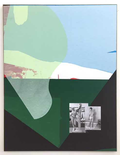 , 'Reverse Thrust (Male Contraposition),' 2018, Galerie Mehdi Chouakri