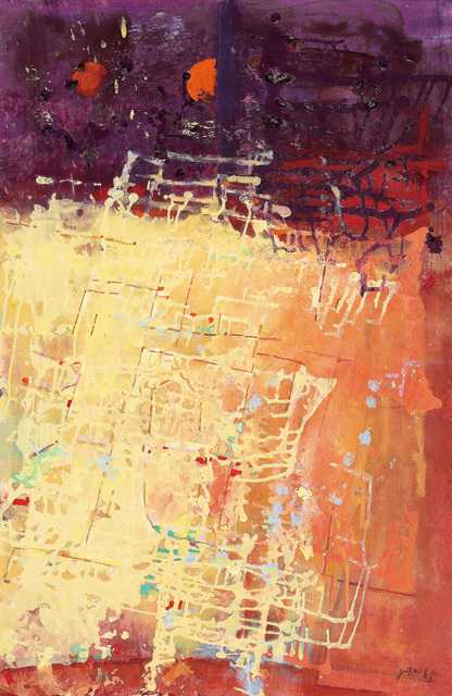 , 'Sunset In Circuit World 日落時的線狀世界,' 2015, Alisan Fine Arts