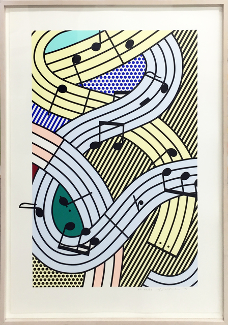 Roy Lichtenstein, 'Composition III', 1996, Soho Contemporary Art