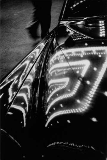 , 'Time square lights reflected on a car, NYC,' 1950, Lumiere Brothers Gallery