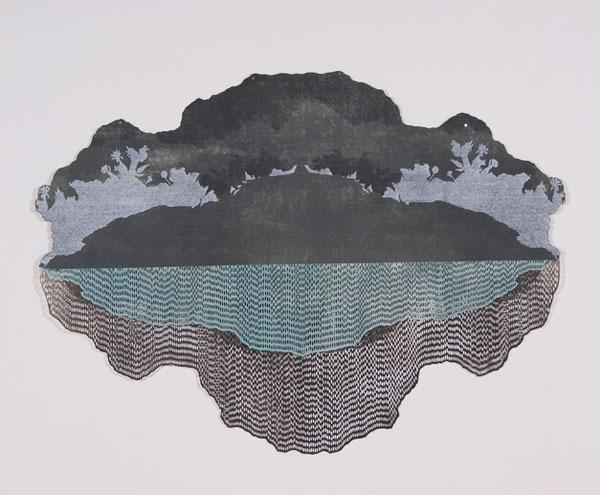 , 'Ash Strata: Glacial Lagoon,' 2013, K. Imperial Fine Art