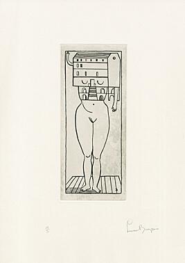 , 'Femme Maison (Woman House),' 1984-1990, Galerie Boisseree