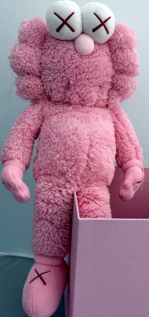 KAWS, 'KAWS Pink BFF Plush (KAWS BFF pink) ', 2019, Lot 180