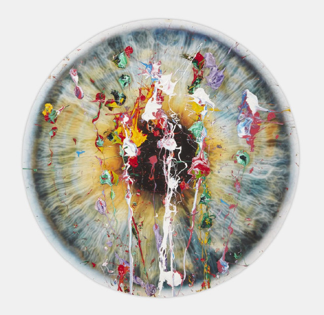 Marc Quinn, 'Untitled ', 2019, Painting, Pigment print with silkscreen glaze and oil paint, Tanya Baxter Contemporary