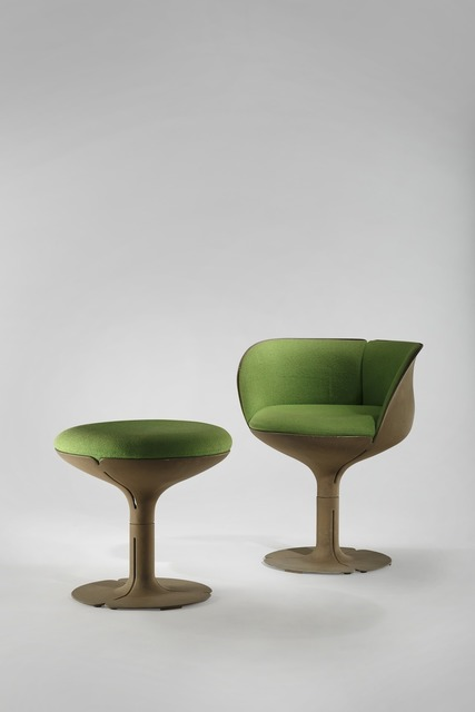 , 'Élysée Chair and Stool,' 1973, Demisch Danant