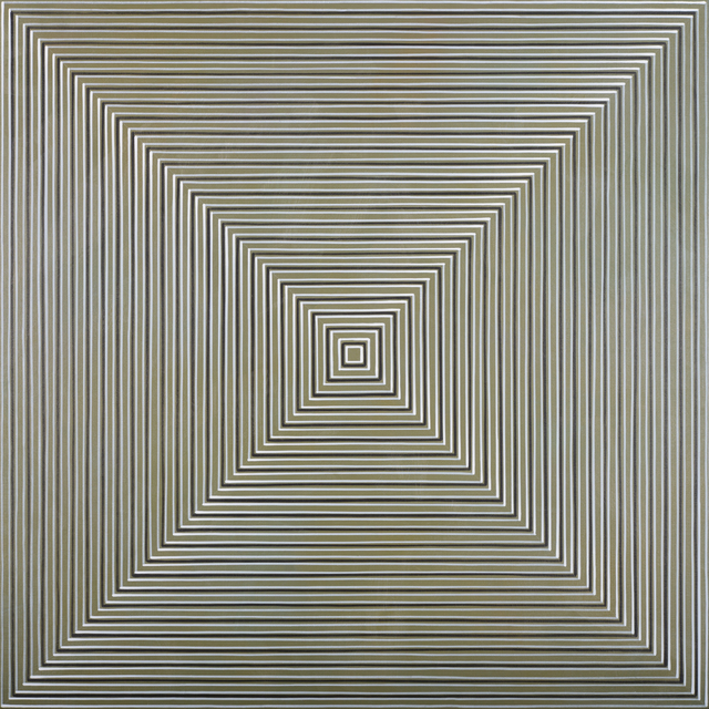 Max Kong, 'Concentric Squares (FindingYellow)', Ode to Art