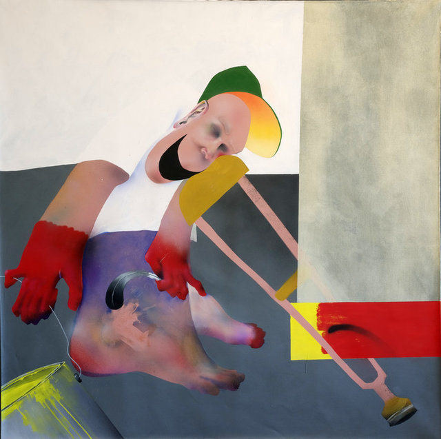 , 'Crutch Kid,' 2017, Deep Space Gallery